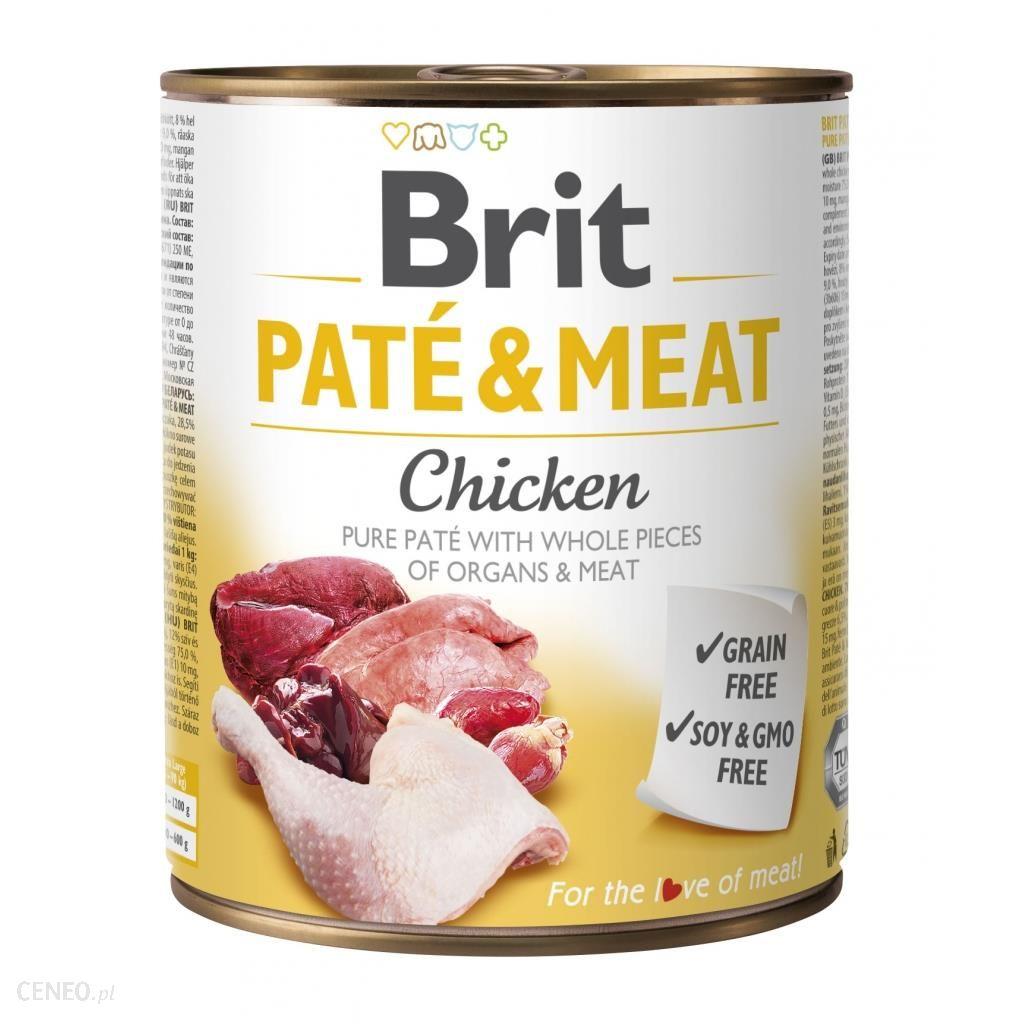 Brit Pate & Meat Chicken 800g