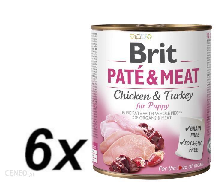 Brit Pate & Meat Puppy 6x800g