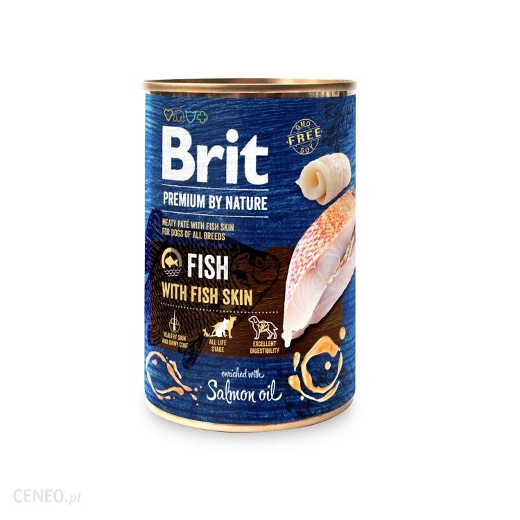 Brit Premium By Nature Adult Fish&Fish Skin 400G