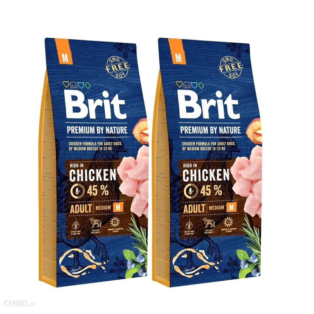 Brit Premium By Nature Adult Medium 2x15kg