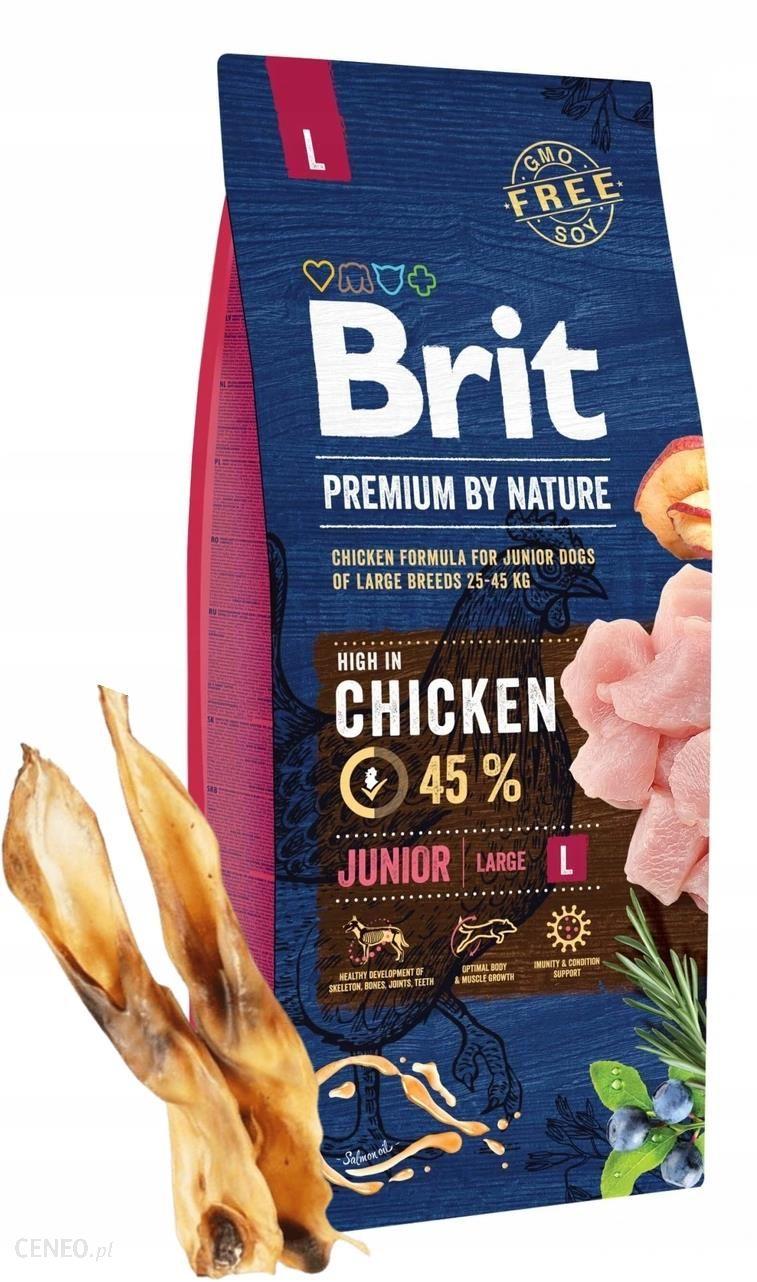 Brit Premium By Nature Junior Large L 15Kg
