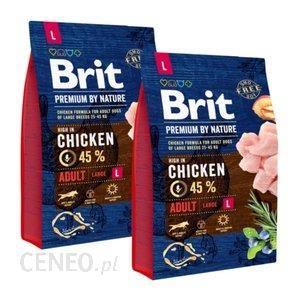 Brit Premium By Nature Large Adult 2x3Kg
