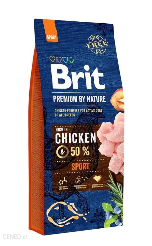 Brit Premium By Nature Sport Wysokoenergetyczna 15kg