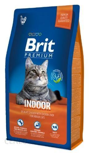 Brit Premium Cat New Indoor 8kg