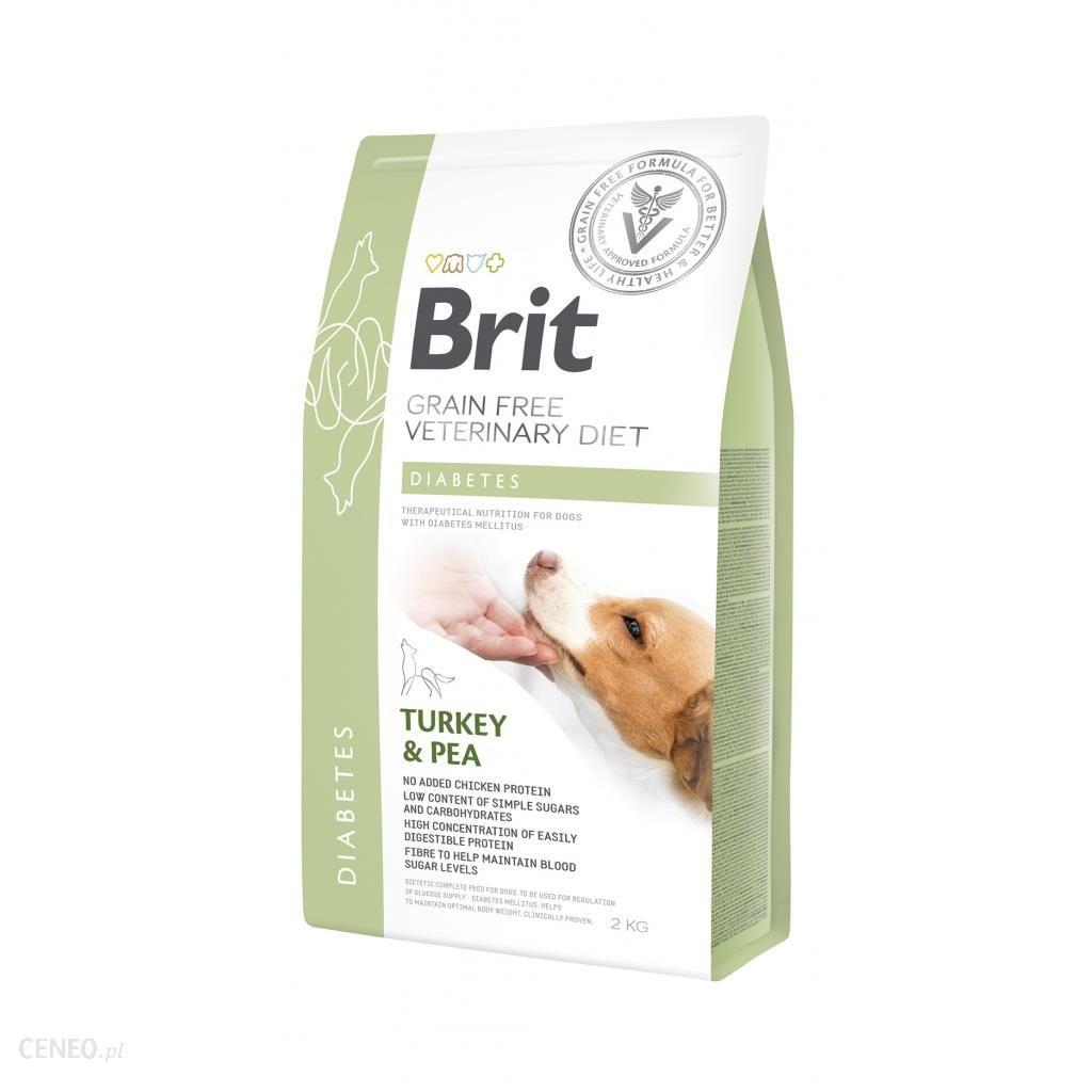 Brit Veterinary Diet Diabetes Turkey&Pea 2kg