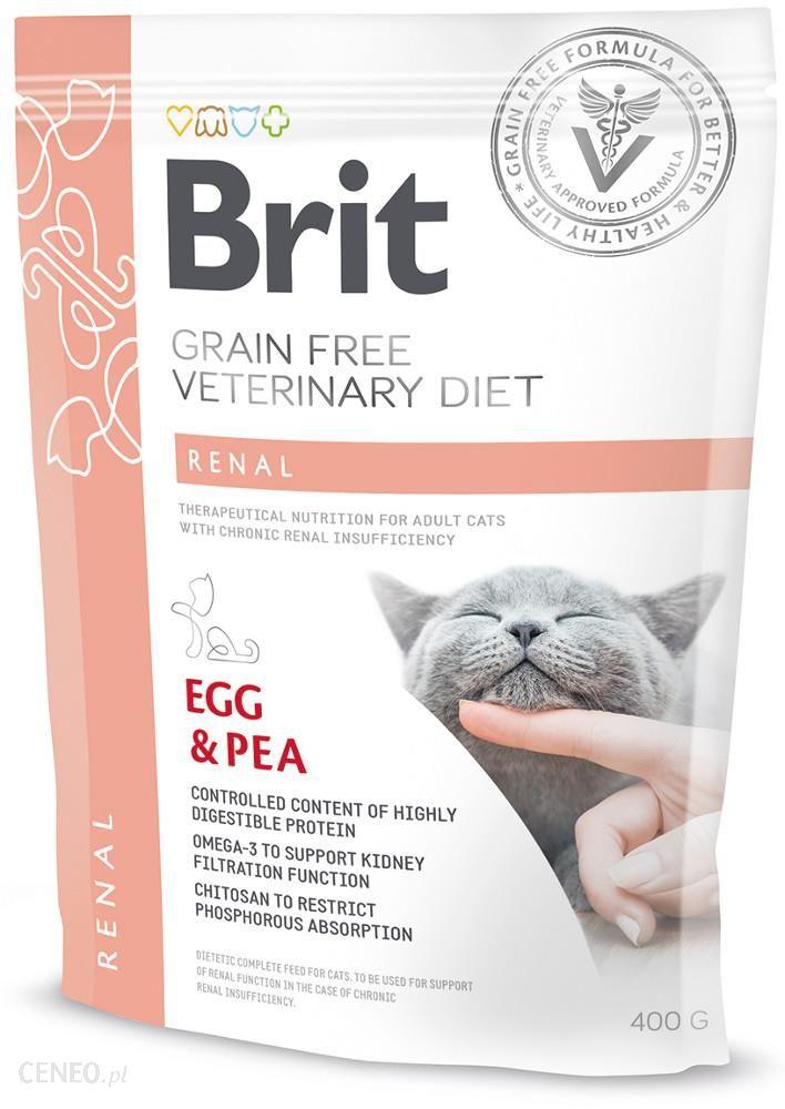 Brit Veterinary Diet Renal Egg&Pea 400g