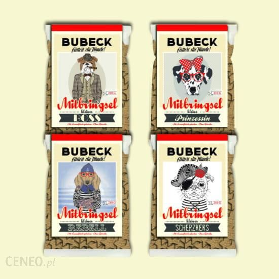 Bubeck Hipster Ciastka Z Jagnięciną I Amarantusem 210G