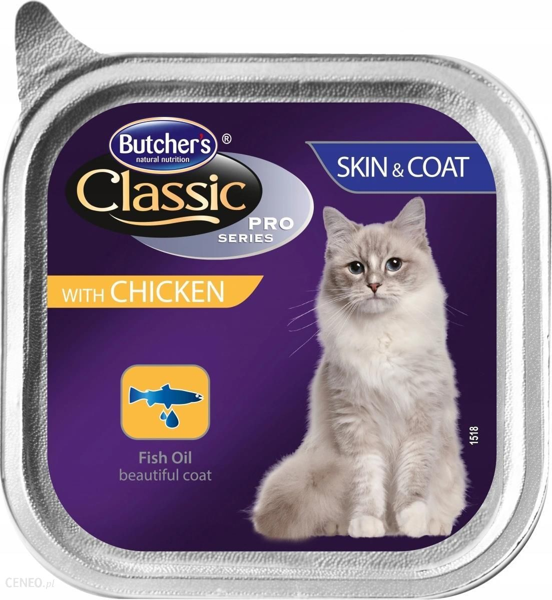 Butcher's Classic Pro Series Skin&Coat z kurczakiem 100g