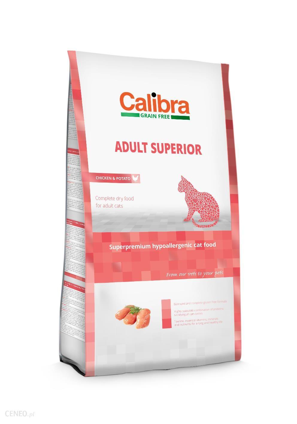 Calibra Cat Adult Superior Chicken&Potato 2kg