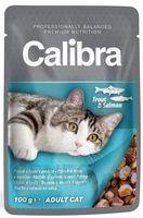 CALIBRA CAT ADULT TROUT & SALMON 100G