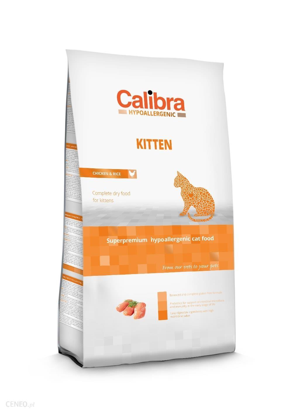 Calibra Hypoallergenic dla kociąt Kitten Chicken 7 kg