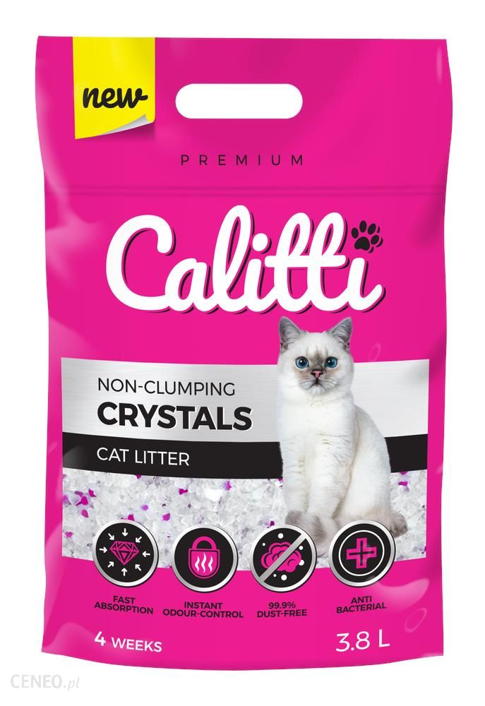 Calitti Crystals Żwirek Silikonowy 3