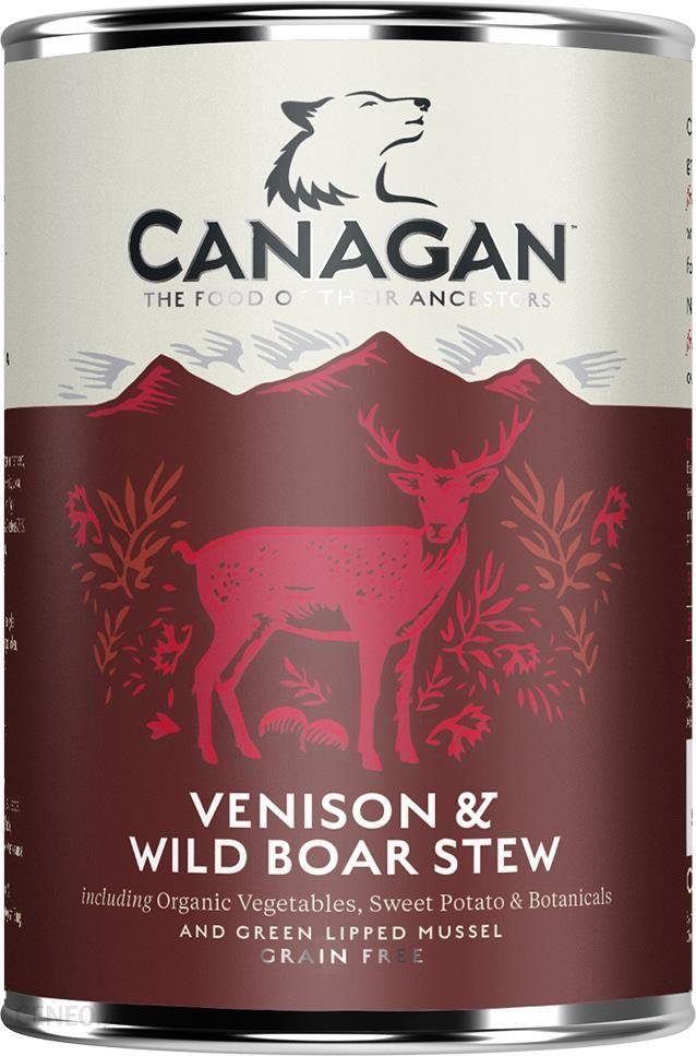 Canagan Venision&Wild Boar Stew Puszka 400g