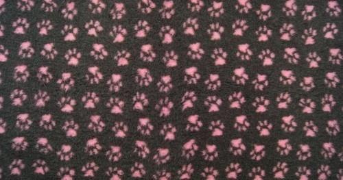 Canilove Dry Bed A 150X100 Grafitowo Różowe