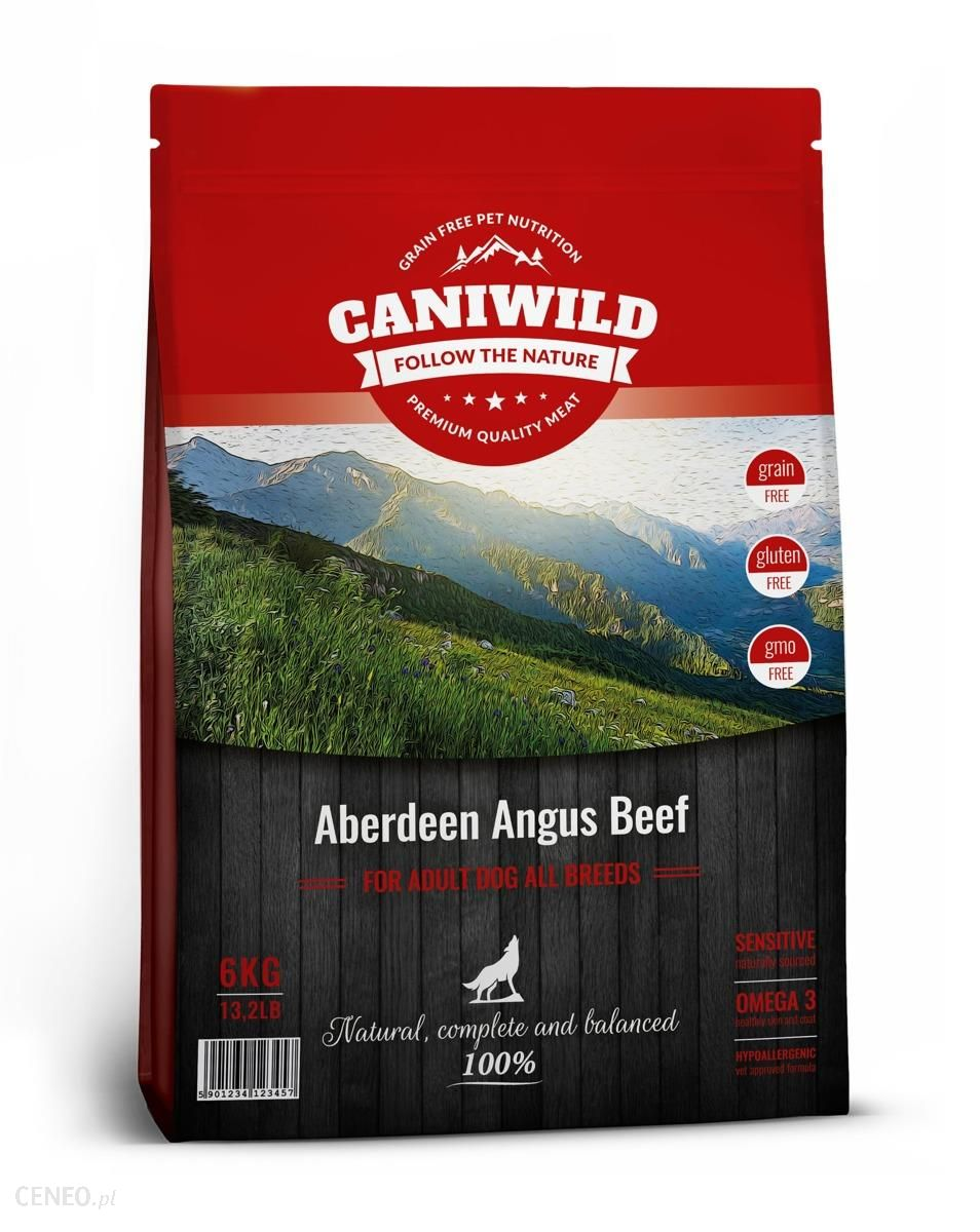 Caniwild Adult Aberdeen Angus Beef 6kg