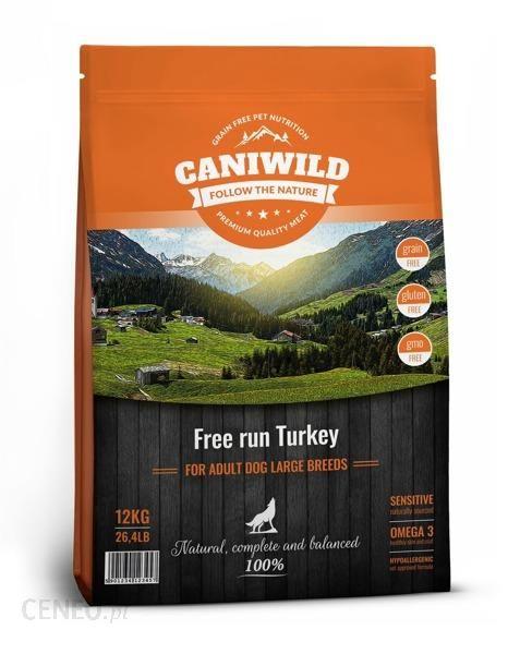 Caniwild Adult Large Free run Turkey 12kg