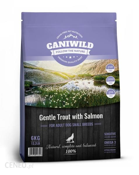 caniwild Adult Small Gentle Trout with Salmon 6kg