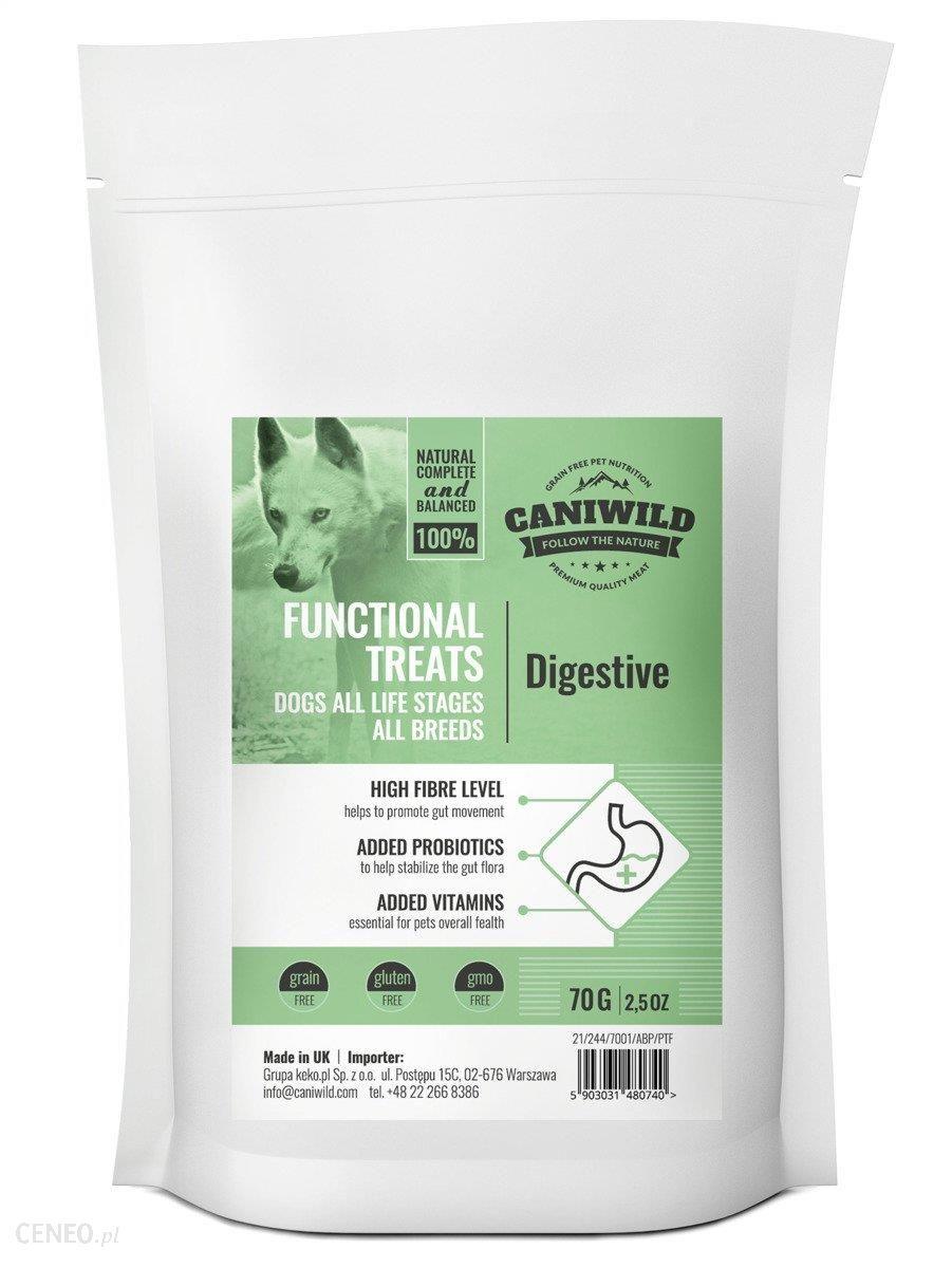 Caniwild Przysmaki Wspomagające Trawienie Digestive Treats 70G