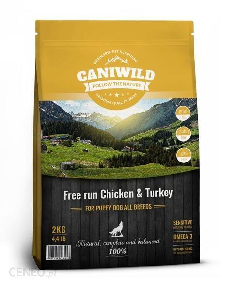 Caniwild Puppy Free run & Turkey 2kg