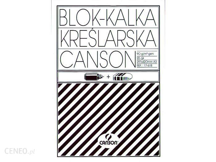 Canson Kalka Techniczna A4/10K 90G Ca6666177