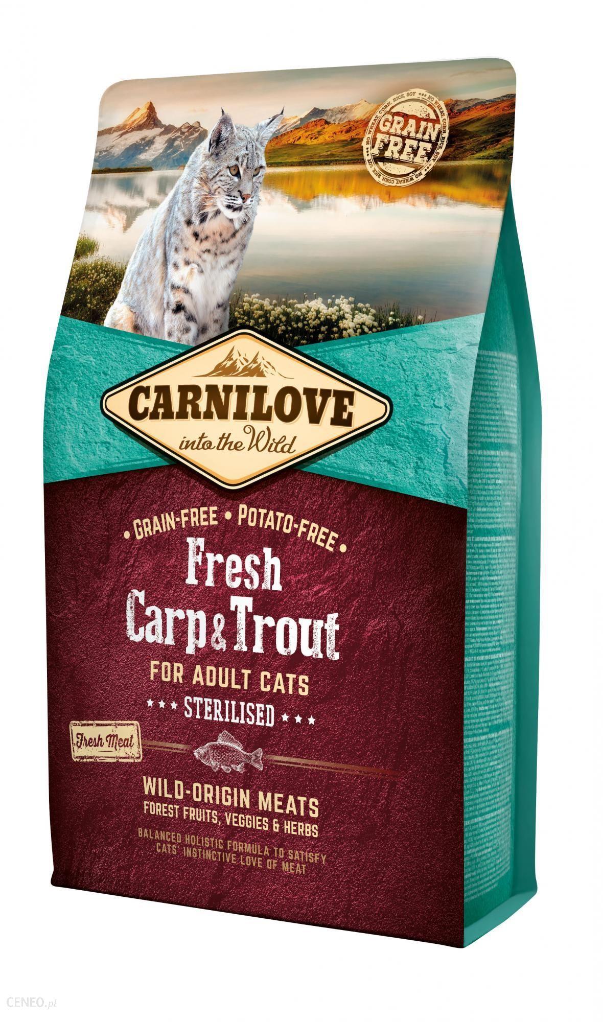 Carnilove Fresh Carp & Trout Sterilised Adult 2kg