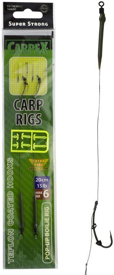 Carpex Przypon karpiowy Pop Up Boilie 20cm 15lb