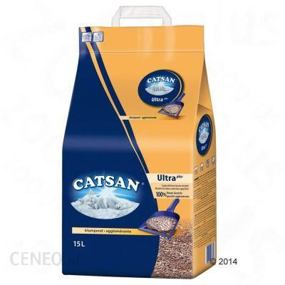 Catsan Ultra Żwirek Zbrylający Się - 15 L
