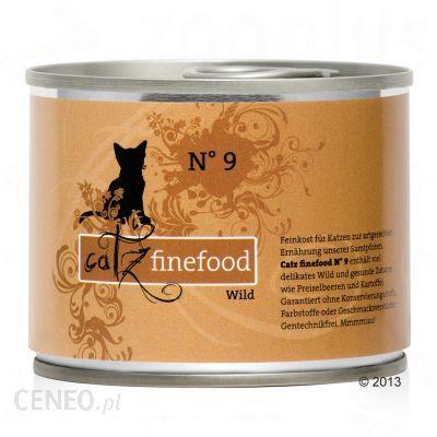Catz Finefood Dziczyzna 6x200G