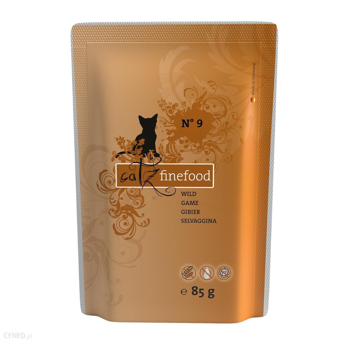 Catz Finefood N 09 Dziczyzna Saszetka 85G