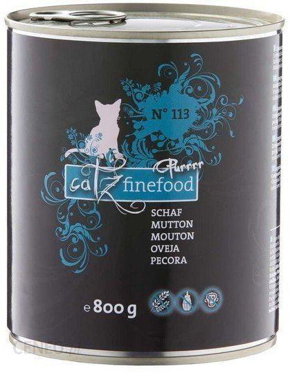 Catz Finefood Purrrr N.113 Owca puszka 800g