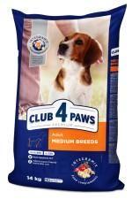 Club 4 Paws Adult Medium Breeds Dla Średnich Ras 14kg