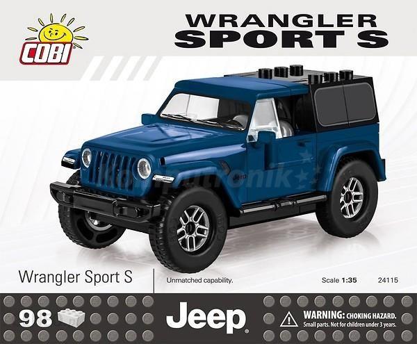 Cobi Jeep Wrangler Sport S (24115)