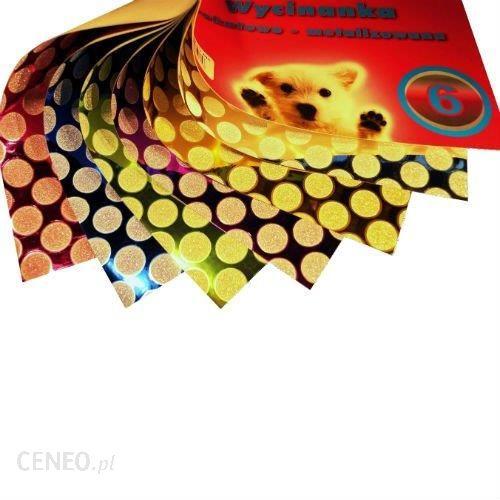 Cormoran Wycinanka Brokatowo-Metalizowana 6 Blok A4 6 Kolorów