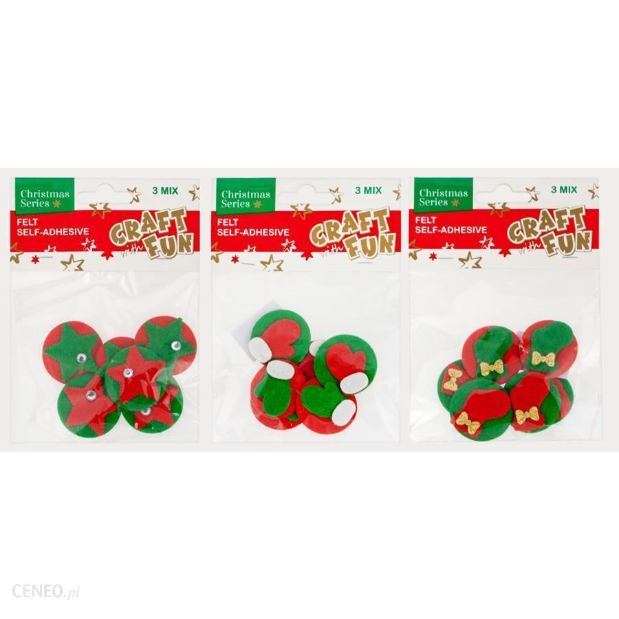 Craft With Fun Cf Ozdoba Bn Filc Dekoracje Sprzyl 3Mix 60/300