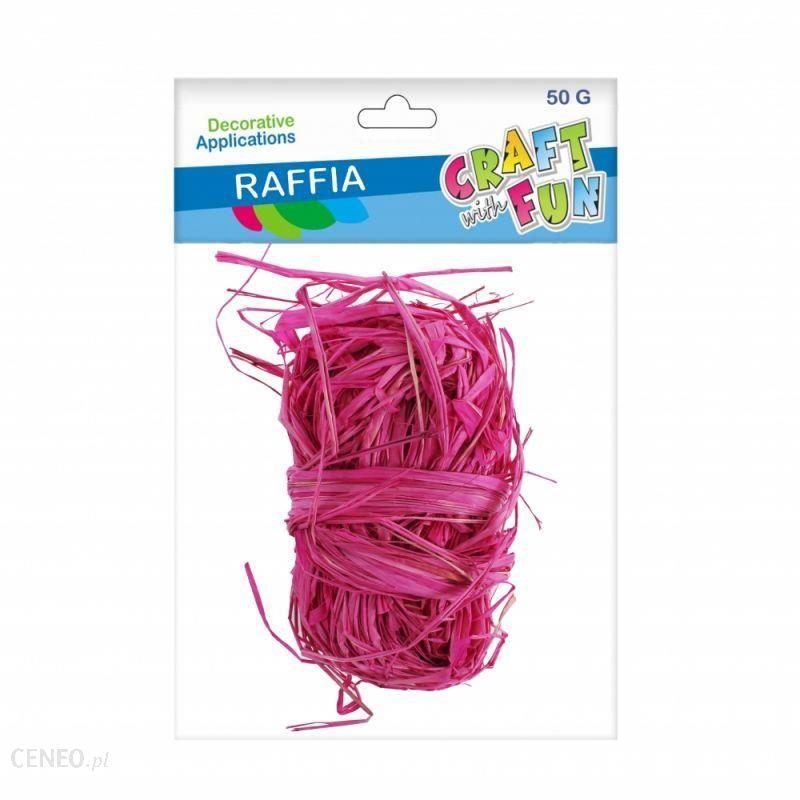 Craft With Fun Ozdoba Dekoracyjna Rafia 50G