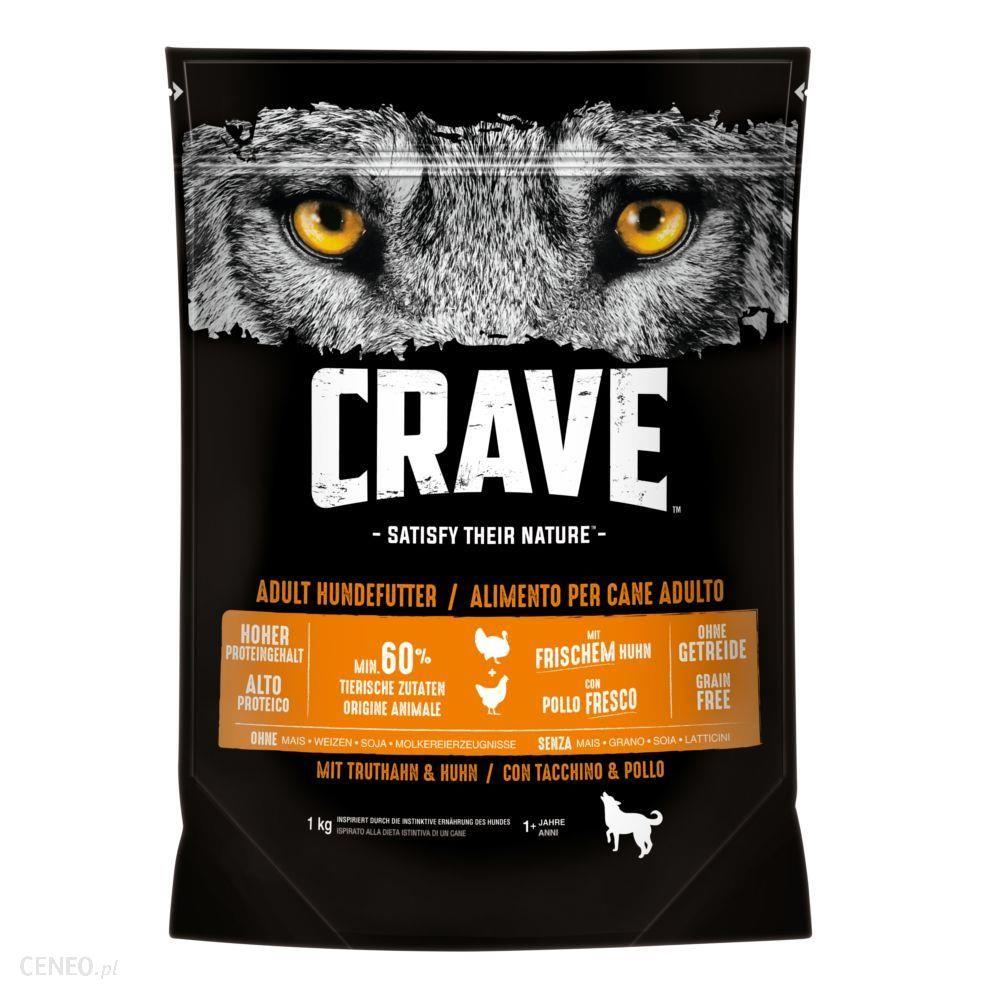 Crave Adult z indykiem i kurczakiem 3x2