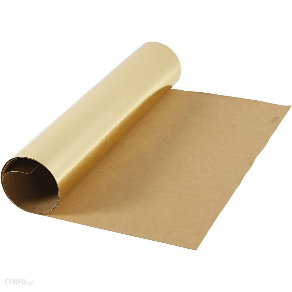 Creativ Company Creativ Papier Washable Złoty 100X49 Cm