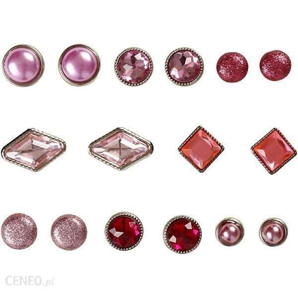 Creativ Eleganckie Ćwieki Dekoracyjne 16Szt Różowe