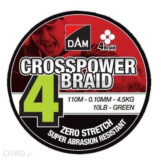 DAM Plecionka Dam Crosspower 4-Braid 0.17Mm 9