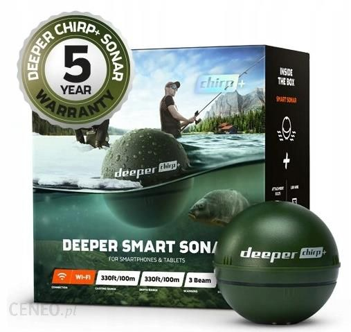 Deeper Smart Sonar Chirp+ Echosonda
