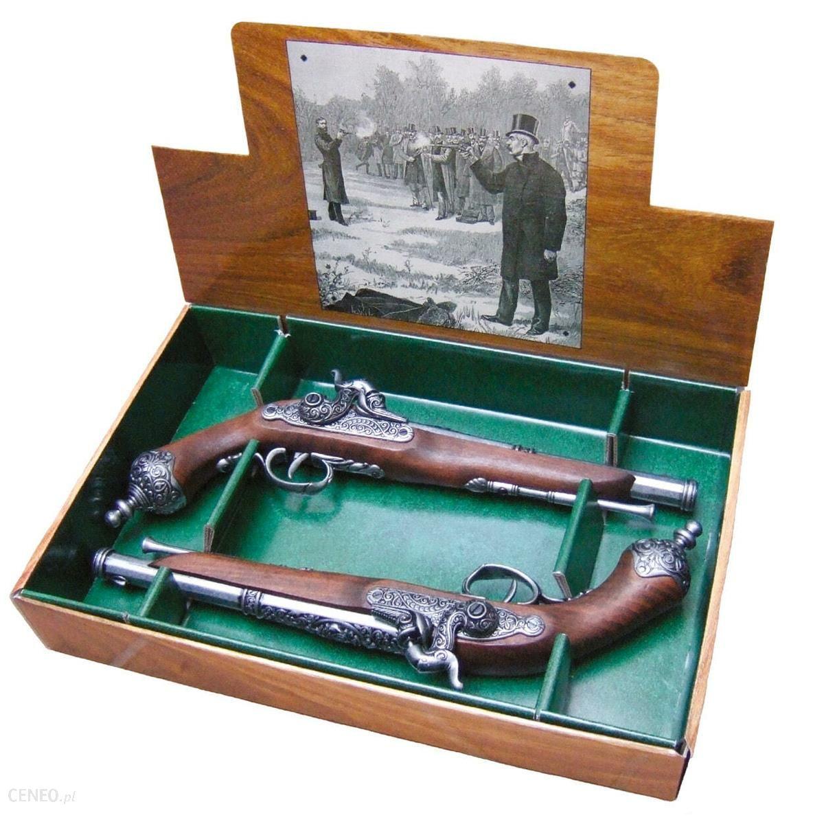 Denix Repliki Dekoracyjne Włoskich Pistoletów Pojedynkowych