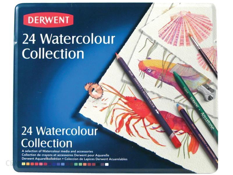 Derwent Watercolour Collection Zestaw Kredek 24szt