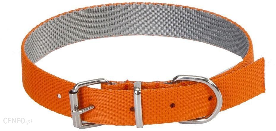 Dingo Obroża Energy Silver Pomarańczowa 1.6/40Cm
