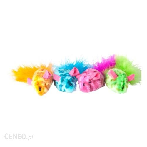 Dingo Zabawka dla kota myszki kolorowe 2szt 21247