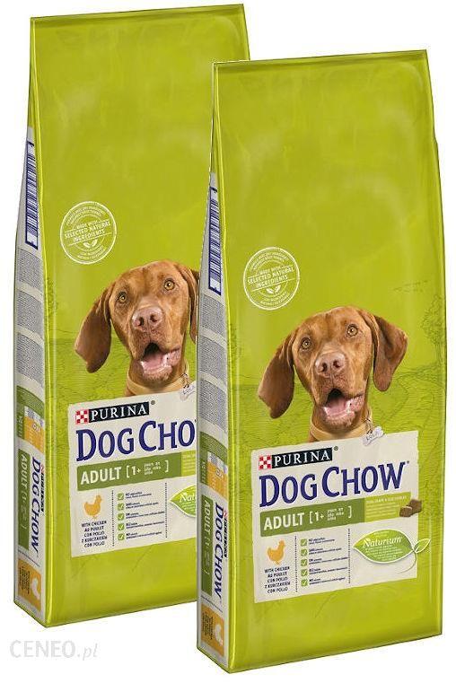DOG CHOW ADULT z kurczakiem 2x14kg