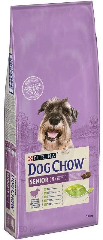 Dog Chow Senior Jagnięcina 2x14kg