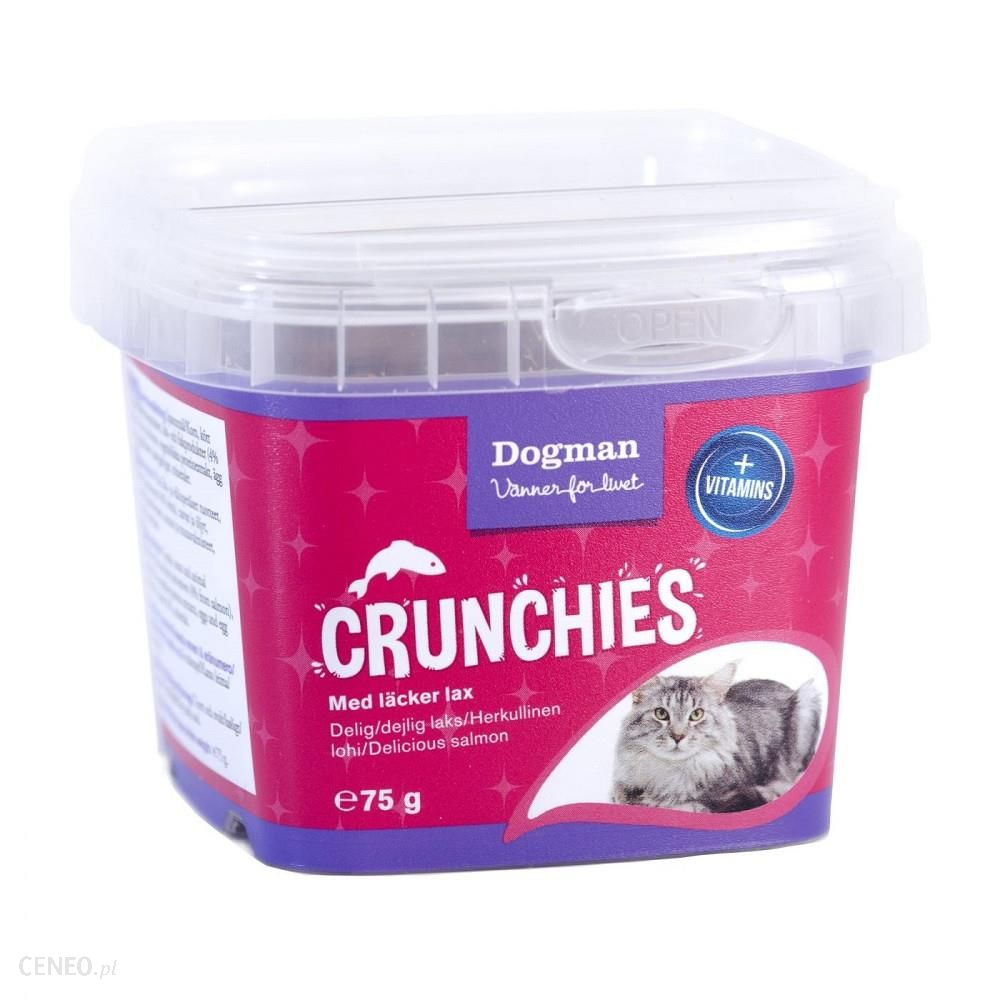 Dogman Kot Box Crunchies Dental 75G