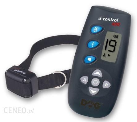 DOGtrace D-CONTROL 400 obroża elektryczna dla 1-psa zasięg 250m