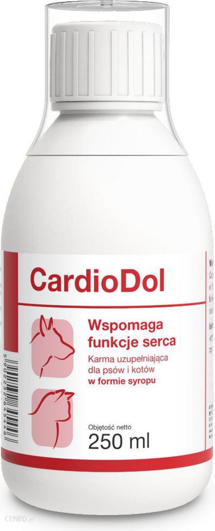 Dolfos Cardiodol Syrop Dla Psów I Kotów Wspomaganie Funkcji Serca