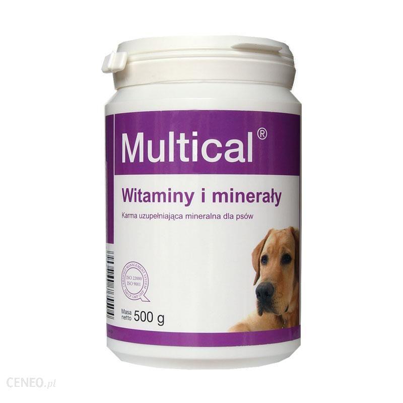 DOLFOS Multical - preparat mineralno - witaminowy dla psów (proszek) 500g